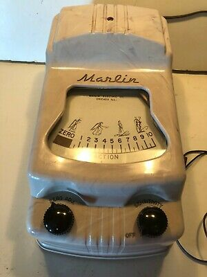 £62.06 • Buy HARD TO FIND Complete Marlin Toy Electronic Lie Detector; Box, Score Sheet +++