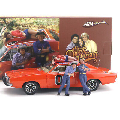 £89.91 • Buy Hrn-model 1/43 Resin Replica Model 1969 Dodge Charger General Lee With Figures
