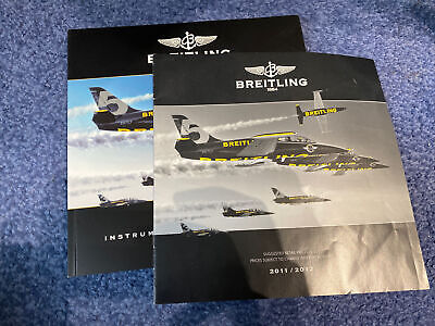 £20 • Buy Breitling 2012 Catalogue Brochure With 2011/2012 Price List