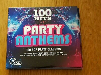£3.99 • Buy 100 Hits - Party Anthems 5CD (2016)