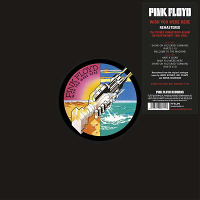 £22.95 • Buy PINK FLOYD - WISH YOU WERE HERE [ REMASTERED 180g VINYL LP ]  *NEW*