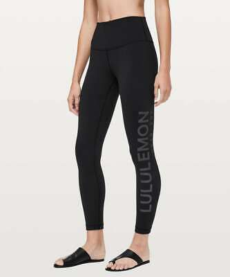 $ CDN72.79 • Buy LULULEMON Wunder Under 7/8 High Rise Tight 20Y Collection 6  Black 25   Logo