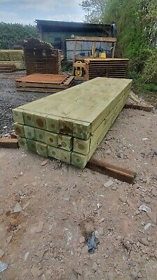 £60 • Buy Wooden Timber Gate Post 3000 X 150mm X 150mm Beam Flat Top