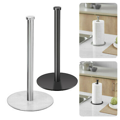 AU37.99 • Buy 304 Stainless Steel Free Stand Toilet Paper Roll Holder Tissue Bathroom Storage