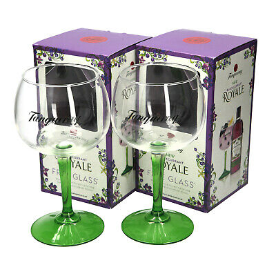 £14.49 • Buy 2 X Tanqueray Royale Green Steamed Balloon Glass. BOXED.COLLECTABLES.Bar. Pub