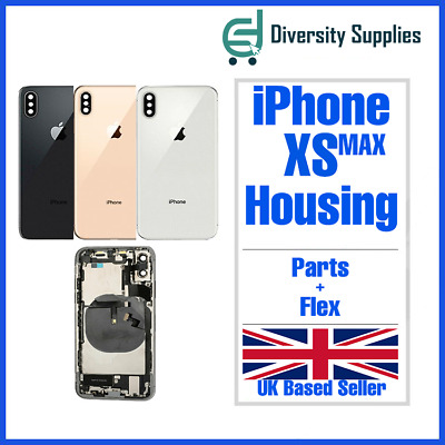 £52.99 • Buy New Iphone Xs Max Replacement Back Rear Housing With Parts Uk