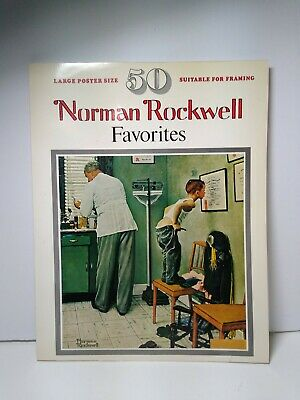 $ CDN24.76 • Buy Norman Rockwell Vintage Book Of Posters Norman Rockwell Favorites 1977 SC