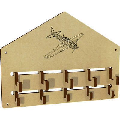 $9.72 • Buy 'Vintage Military Aircraft' Wall Mounted Coat Hooks / Rack (WH00019184)