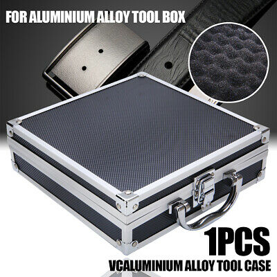 £7.49 • Buy Aluminium Flight Case Storage Toolbox Portable Joiners Electricians Tool Boxes
