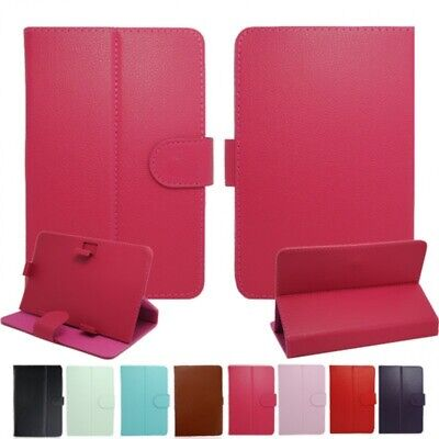 AU6.93 • Buy UK Universal Leather Stand Case For 7 ,8 ,9 ,10 ,10.5inch Laptop / IPad / Tablet
