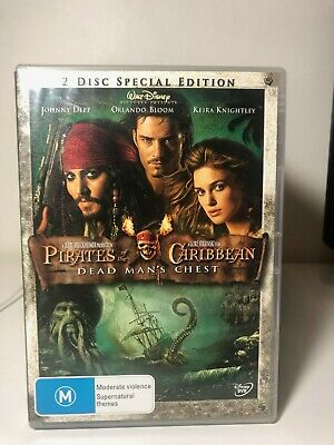 AU8.87 • Buy DVD - Pirates Of The Caribbean - Dead Man's Chest - Johnny Depp - FREE POST #P5