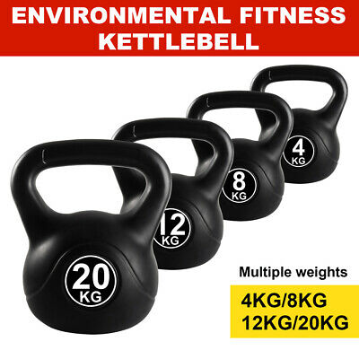 AU38.99 • Buy 4-20KG Kettlebell Kettle Bell Weight Exercise Home Gym Workout Dumbbell Gym