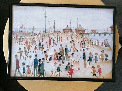 £6.99 • Buy L. S Lowry  At The Beach  Framed Print
