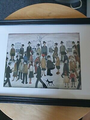 £6.99 • Buy L.s Lowry (At The Races) Framed Print .
