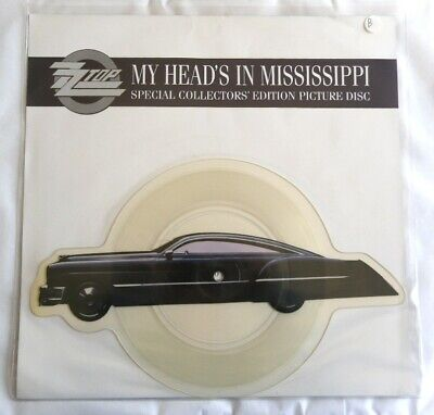 £17.08 • Buy 7  45 Tours ZZ TOP MY HEAD'S IN MISSISSIPPI SHAPED PICTURE DISC 1990 TBE