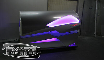 Ergoline Excellence 800 Fully Loaded Laydown Sunbed Tanning Sunbeds Sun Bed Tan. • 8,199.99£