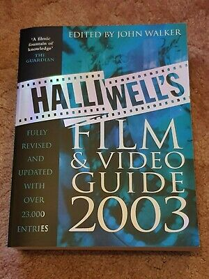£6 • Buy Halliwell's Film And Video Guide 2003. Large 1000 Page Paperback