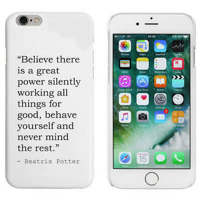 £8.99 • Buy Religion Quote By Beatrix Potter Mobile Phone Cases / Covers (MC007686)
