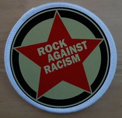 £3.75 • Buy Rock Against Racism Anti Racism 3 Inch Iron Or Sew On Patch Badge