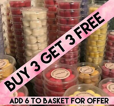 £2 • Buy Highly Scented Soy Wax Melts Multi Buy Discount