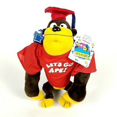 $ CDN8.45 • Buy Applause Grad U Ape Plush Monkey Ape Graduation Cap Gown Stuffed Animal 10