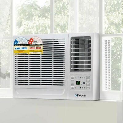 AU545.25 • Buy Devanti Reverse Cycle Window Box Air Conditioner 4.1kW Wall Cooler Heater Summer