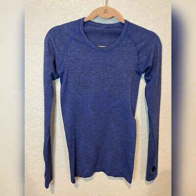 $ CDN42.46 • Buy Lululemon Longsleeve Swiftly Tech Blue Size 4