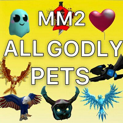 $ CDN2.63 • Buy MM2 Roblox - ALL GODLY PETS FAST AND CHEAP (Read Desc)