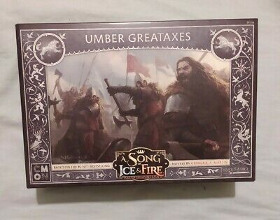 £20 • Buy Umber Greataxes A Song Of Ice And Fire Game Of Thrones New