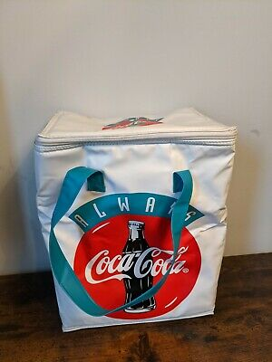 £16.99 • Buy Retro Coca Cola Thermos Cool Cooler Outdoor Picnic Bag White Large