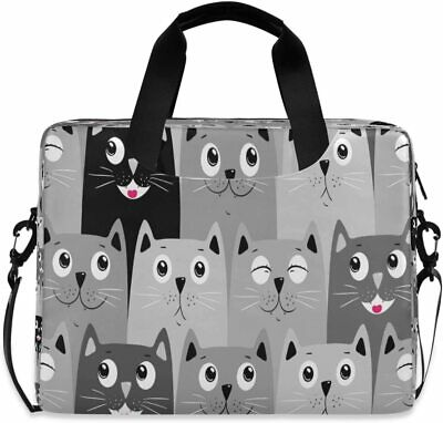 £37.64 • Buy Laptop Bag Cat Case Computer Carrying 13-15.6 Inch Sleeve...