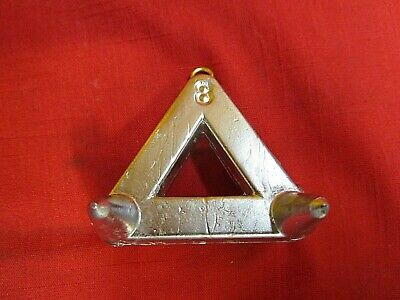 AU30.49 • Buy 8 Oz Triangle Claw Sinkers Weights, Surf, * 10 Sinkers *  Free Shipping