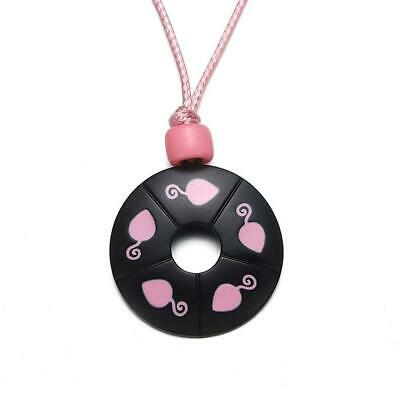 £6.58 • Buy Miracle Ladybug Mouse Necklace Cosplay Costume Kids Jewelry Pink Round Pendant