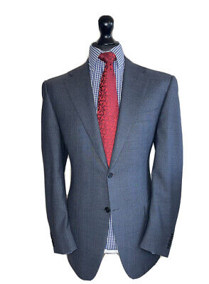£154.99 • Buy CANALI LUXURY DESIGNER 3 PIECE SUIT FULL CANVASS WATER RESISTANT. WOOL 40x34x31