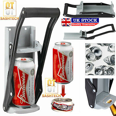 £10.59 • Buy 16oz 500ml Large Beer Tin Can Crusher Wall Mounted Recycling Tool Bottle Opener