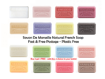 £2.99 • Buy Savon De Marseille Natural French Soap 60g - FREE P&P -Paraben And Sulphate Free