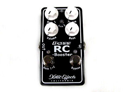 £100.14 • Buy Used Xotic Effects Bass RC Booster V2 Bass Guitar Effects Pedal