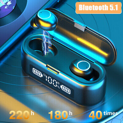 $ CDN16.35 • Buy Bluetooth Earbuds For IPhone Samsung Android Wireless Earphone IPX7 WaterProof