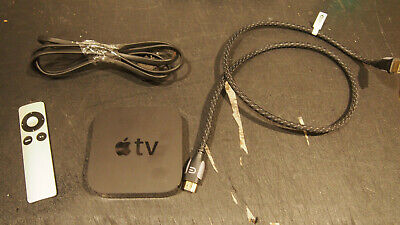 AU37.26 • Buy Apple Tv 3rd Gen With Remote And Hdmi Cable  Bundle A1469
