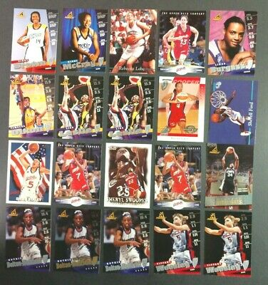 $ CDN9.69 • Buy 20 Cards Of WNBA STARS! LOBO, LESLIE, SWOOPES, STALEY, COOPER & More! FREE S&H!!