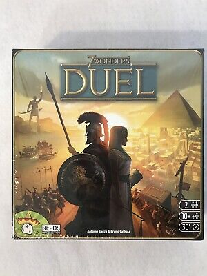 AU39.83 • Buy 7 WONDERS DUEL ~ Award Winning 2 Player Strategy Board Game NEW FACTORY SEALED