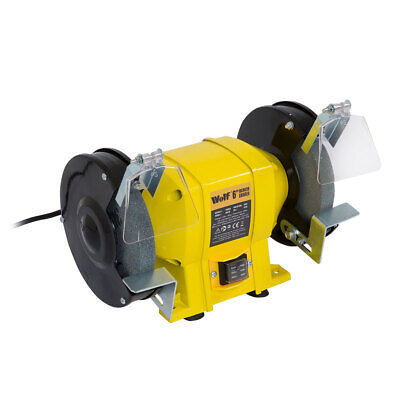 Wolf 6  250w Bench Grinder Dual Grinding Stone 150mm • 35.99£