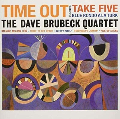 £18.99 • Buy Dave Brubeck Quartet - Time Out- Deluxe Gatefold Edition *new & Sealed*