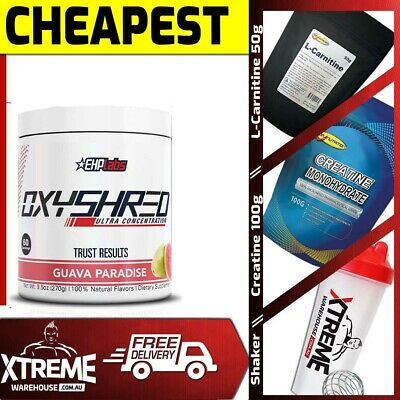 AU63.95 • Buy Ehp Labs Oxy Shred 60 Srv // Ehplabs Fat Burner Loss Oxyshred Thermogenic +