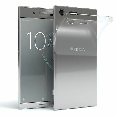 AU6.51 • Buy Sony Xperia XZ Premium Case Silicone Back Cover Phone Protection Transparent