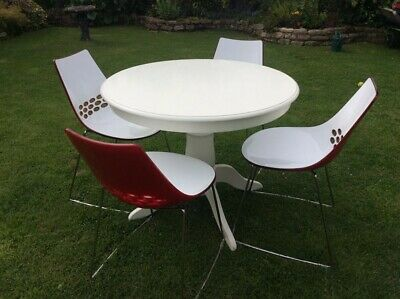 £200 • Buy Connubia Calligaris Jam Sleigh Leg Chairs - Qty 4