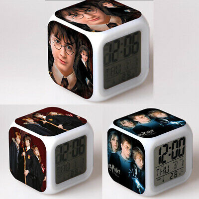 £9.99 • Buy Hot Harry Potter Hermione Alarm Clock 7-Color Changing Alarm Clock In Box Gift