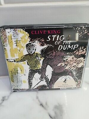 £6.95 • Buy Stig Of The Dump By Clive King CD-Audio Book 3 CDS Read By Tony Robinson VGC