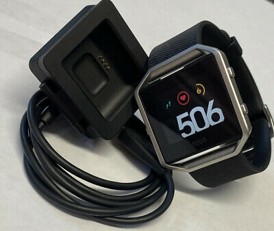 AU51.27 • Buy Fitbit Blaze FB502 Activity Tracker Large Band With Charger