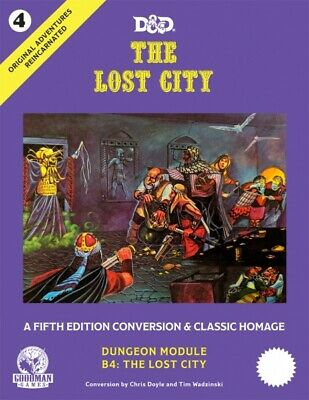 AU66.95 • Buy D&D 5th Edition: Original Adventures Reincarnated #4 - The Lost City